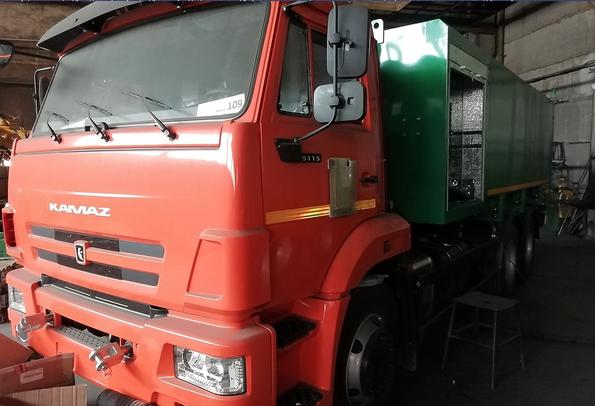 Каналопромывочная машина высокого давленияМВс-6-ОДг КамАЗ 65115 – фото 6