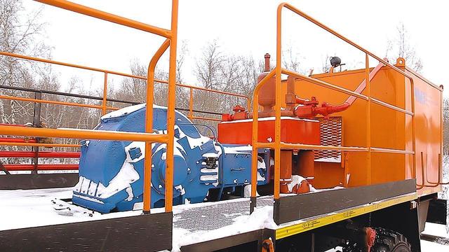 Агрегат цементировочный СИН-35 СИН-32 Камаз-43118 – фото 4