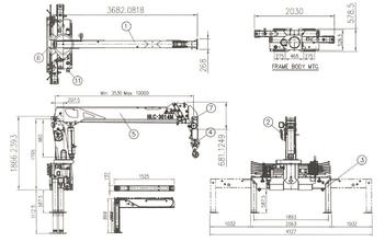 Кран-манипулятор 5 тонн на шасси КАМАЗ 43253/JAK с КМУ HKTC HLC5014M – фото 5