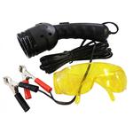 Комплект для определения утечек - УФ-лампа (12 В), очки AT41549 – фото 1