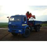 КМУ PALFINGER INMAN IT 150 на шасси КАМАЗ-43118-3027-50 – фото 1