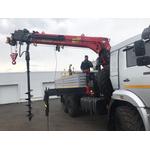 PALFINGER INMAN IT 200 с нераздвижными задними опорами на шасси КАМАЗ-43118-3027-50 – фото 1