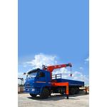 Бортовой КамАЗ 65117 с КМУ Kanglim KS 1056 – фото 1