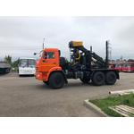 Сортиментовоз, тягач 43118 с ОМТЛ 70-02, вылет 7,3 метра, 2050 кг – фото 1