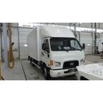 HYUNDAI HD 78 с изотермическим фургоном и гидробортом – фото 1
