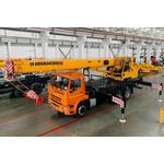 Автокран ИВАНОВЕЦ 25 тонн КС-45717К-1М-24 на КАМАЗ 65115 – фото 1