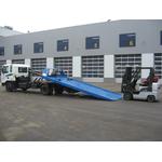 Эвакуатор со сдвижной платформой и тентом Шасси Hyundai HD-120 Extra Long – фото 1